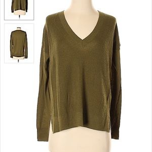 J. Crew Pullover Sweater Merino Wool Cotton M
